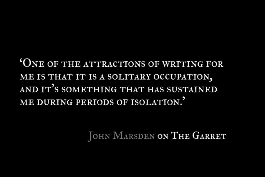 John Marsden_The Garret_Quotes 2