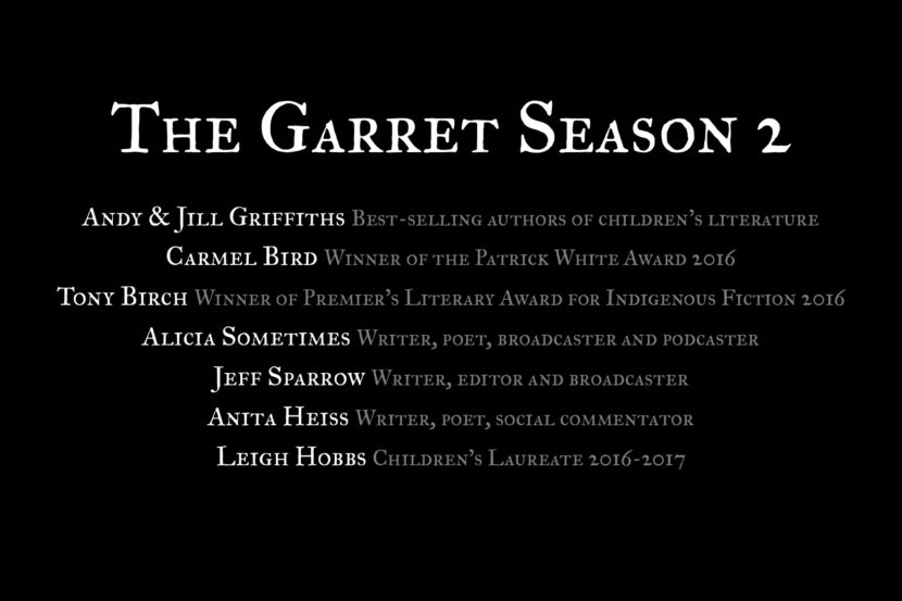 Announcing The Garret Season 2