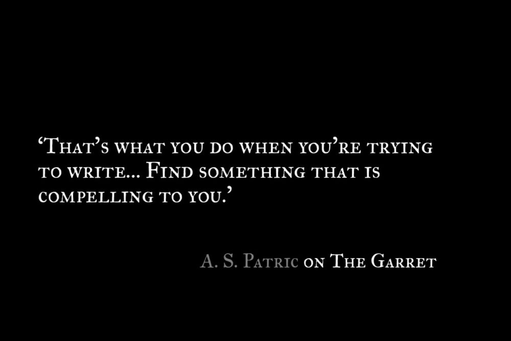A S Patric_The Garret_Quote 2