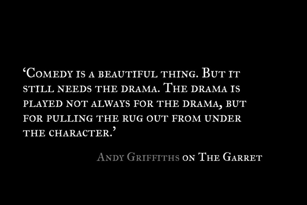 Andy Griffiths_The Garret_Quote 1