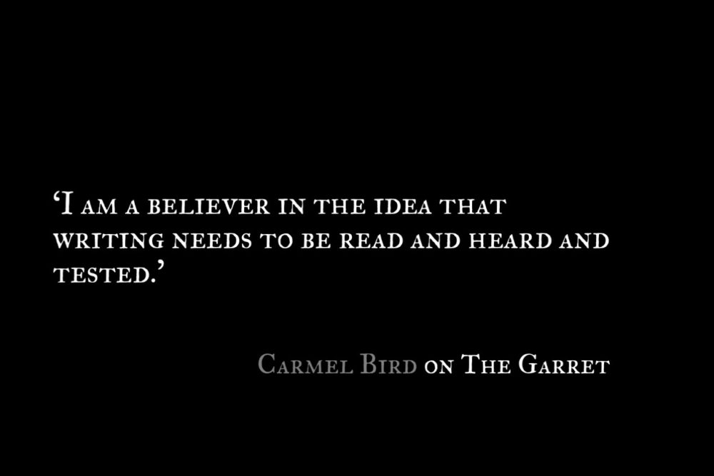Carmel Bird_The Garret_Quote 1