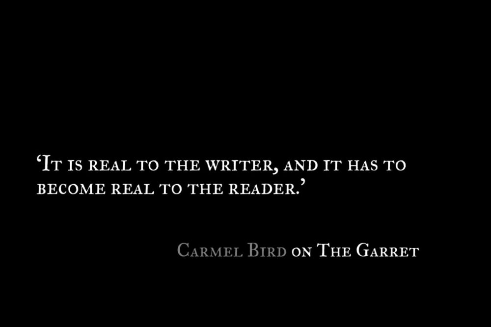 Carmel Bird_The Garret_Quote 2