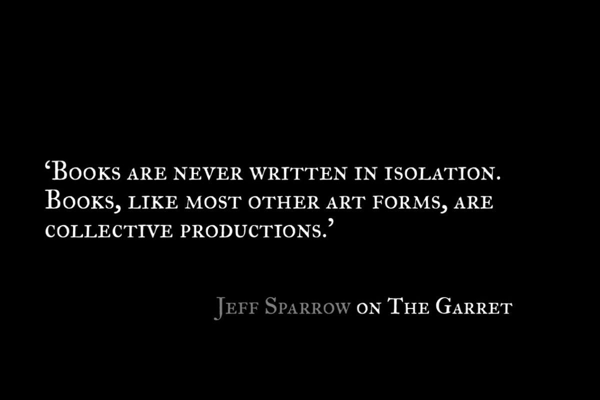 Jeff Sparrow_The Garret_Quote 1