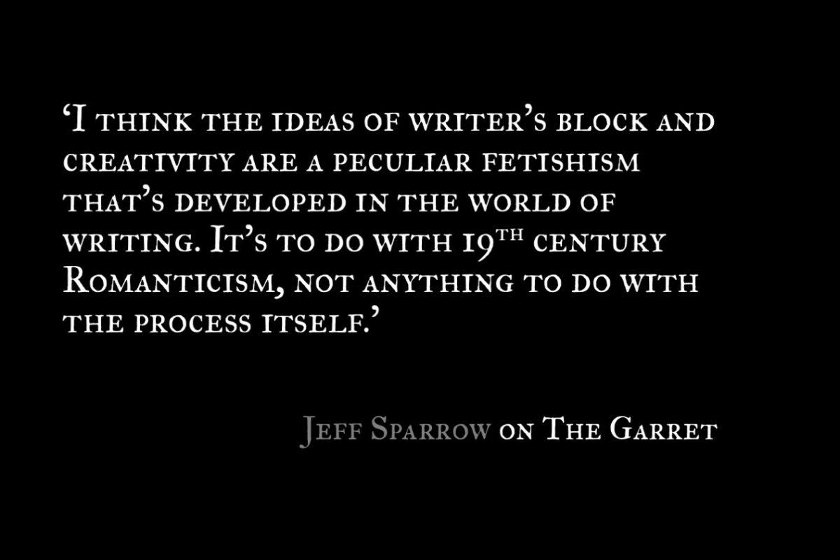 Jeff Sparrow_The Garret_Quote 2