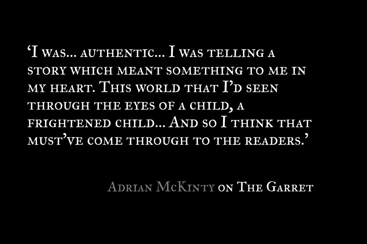 Adiran McKinty_Quote 1_The Garret