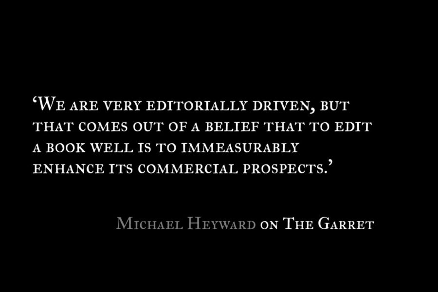 Michael Heyward_The Garret_Quote 1