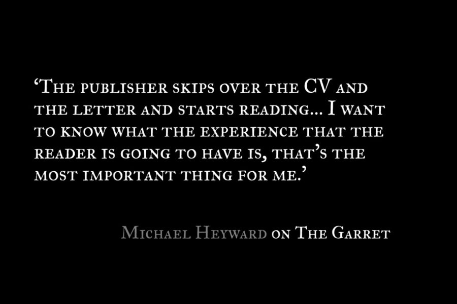 Michael Heyward_The Garret_Quote 2