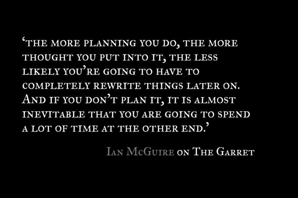 Ian McGuire_The Garret_Quote 1