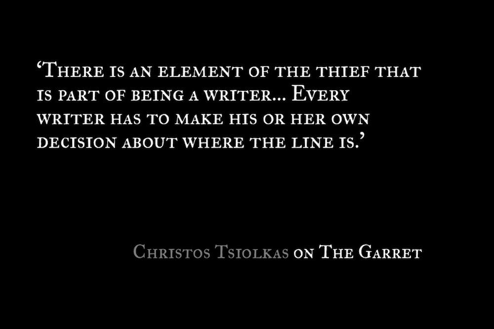 Christos Tsiolkas_The Garret_Quote 1