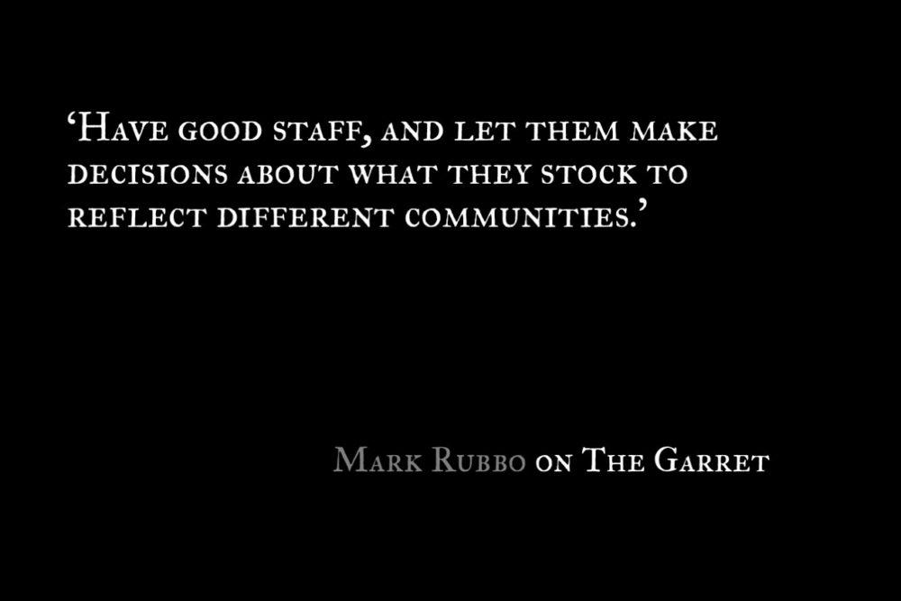 The Garret_Mark Rubbo_Quote 1