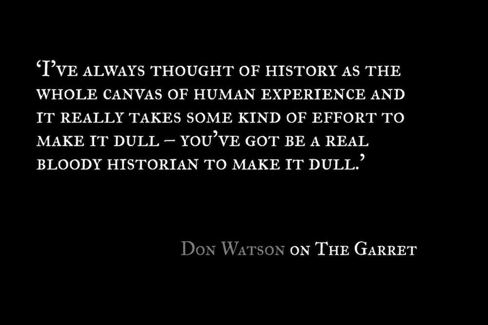 The Garret_Don Watson_Quote 1
