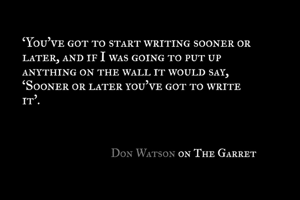 The Garret_Don Watson_Quote 2