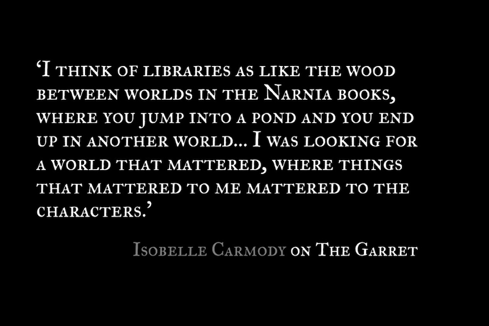 The Garret_Isobelle Carmody_Quote 1