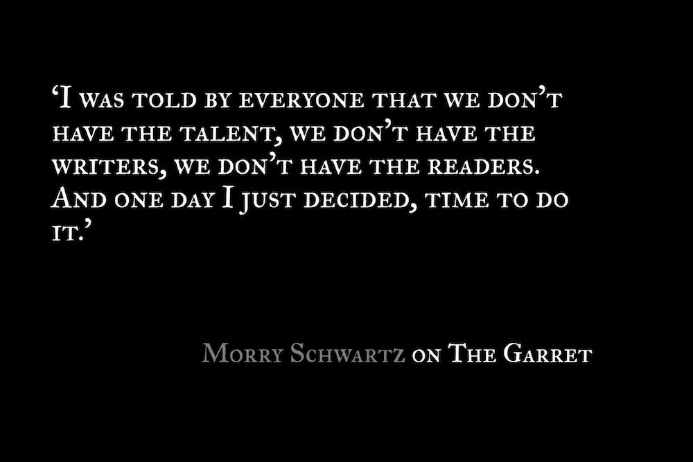 The Garret_Morry Schwartz_Quote 2_Postcard