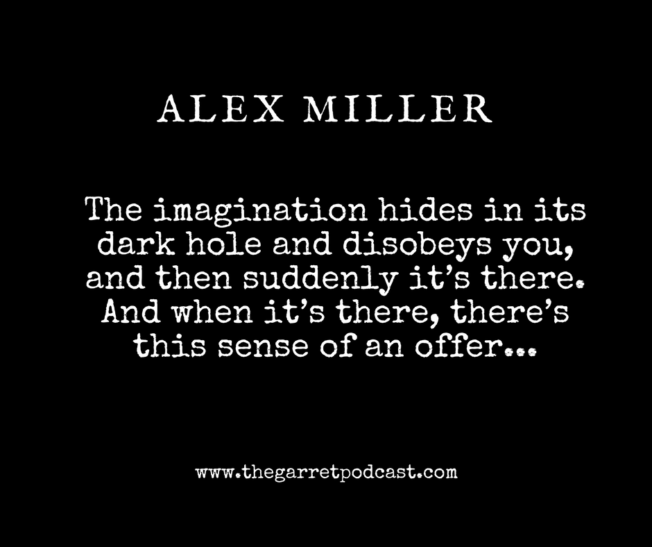 Alex Miller spoke to The Garret about his literary career and the craft of writing.