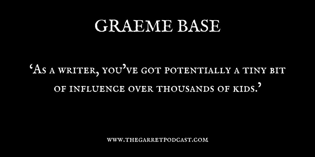 Graeme Base_The Garret_Quote 1