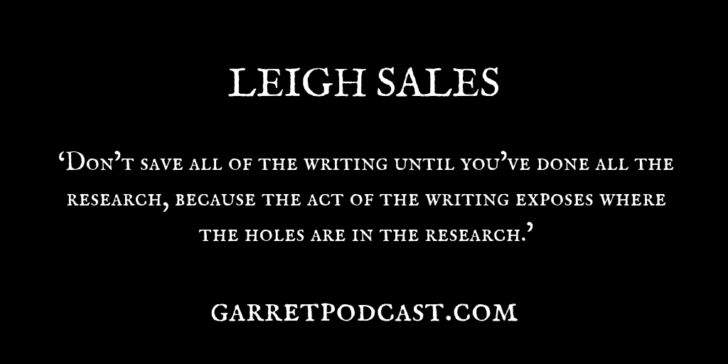 Leigh Sales_The Garret_Quote 5