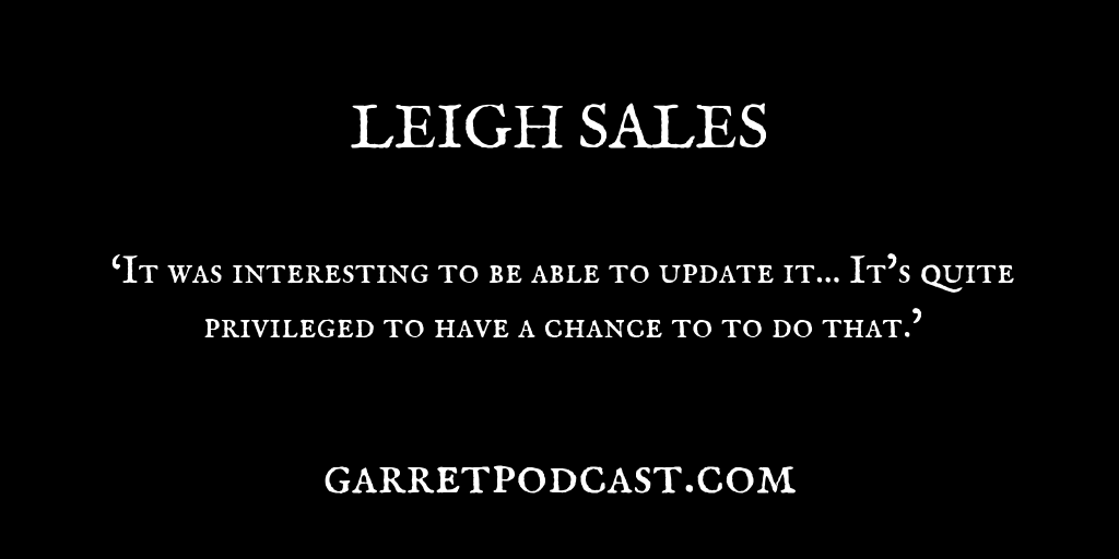 Leigh Sales_The Garret_Quote 1