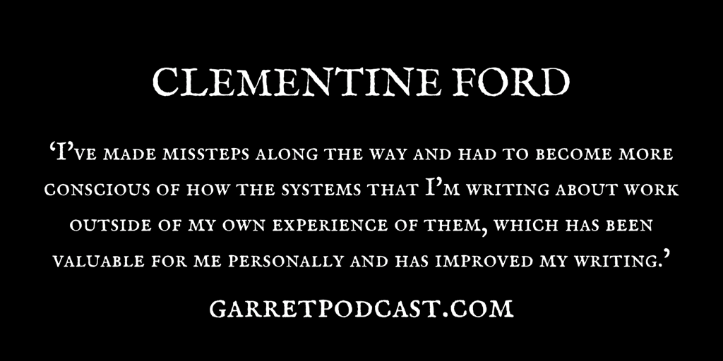 The Garret_Clementine Ford_Quote_1