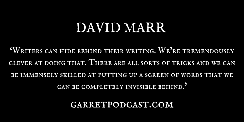 David Marr_The Garret_Quote 4