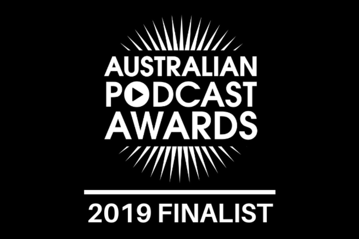 Australian Podcast Awards_Finalist