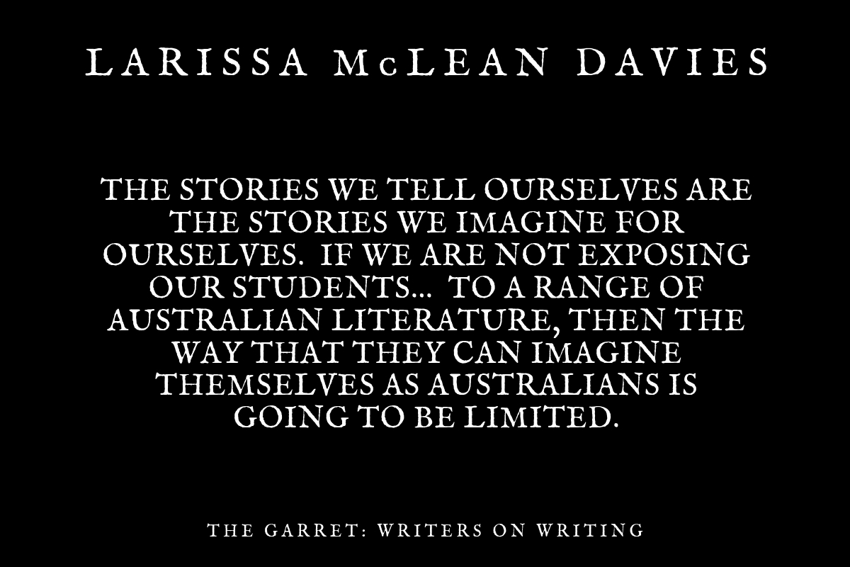 Maxine McKew and Larissa McLean Davies: On teaching Australian literature