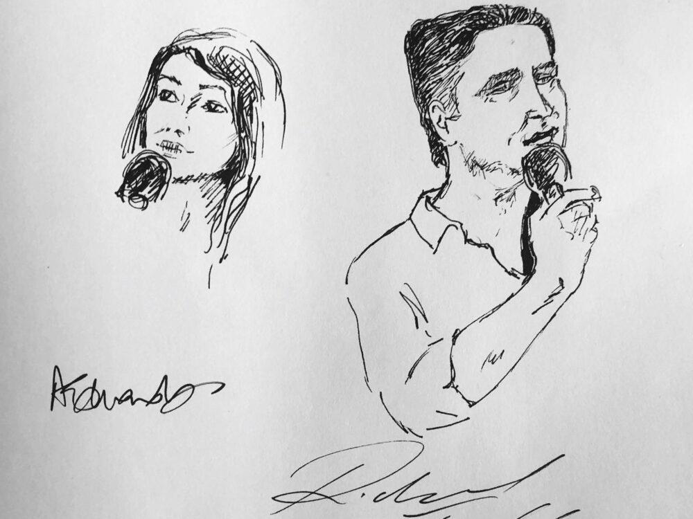 Richard Fidler_The Garret_UWRF2019_Sketch